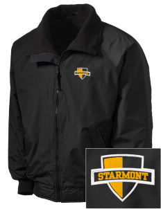 Starmont Elementary School Stars Embroidered Tall Men's Challenger Jacket