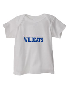 Lyons Middle School Wildcats  Baby Lap Shoulder T-Shirt