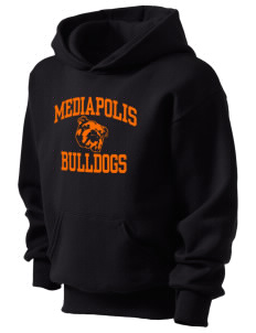 Mediapolis Middle School Bulldogs Kid's Hooded Sweatshirt