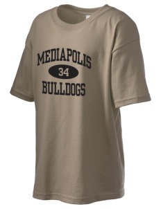 Mediapolis Middle School Bulldogs Kid's 6.1 oz Ultra Cotton T-Shirt