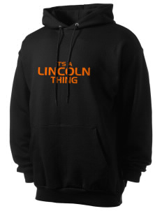 Lincoln Elementary School Comets Men's 7.8 oz Lightweight Hooded Sweatshirt