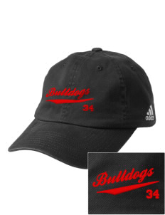 North Side Elementary School Bulldogs Embroidered adidas Relaxed Cresting Cap