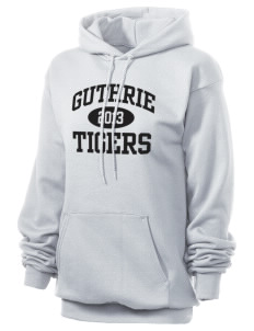 Guthrie Center Junior High School Tigers Unisex 7.8 oz Lightweight Hooded Sweatshirt