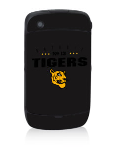 Guthrie Center Junior High School Tigers Black Berry 8530 Curve Skin