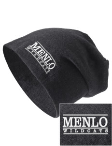 Menlo Elementary School Wildcats Embroidered Slouch Beanie