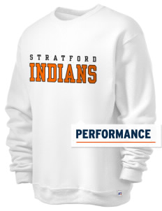 Stratford Community School Lynx  Russell Men's Dri-Power Crewneck Sweatshirt