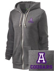 Ackley-Geneva Elementary School Cougars Embroidered Alternative Unisex The Rocky Eco-Fleece Hooded Sweatshirt