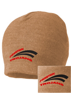 Preston High School Trojans Embroidered Beanie