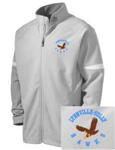 Lynnville-Sully Elementary School Hawks Holloway Embroidered Men's Radius Zip Front Jacket