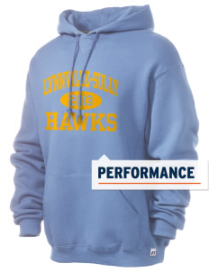 Lynnville-Sully Elementary School Hawks Russell Men's Dri-Power Hooded Sweatshirt