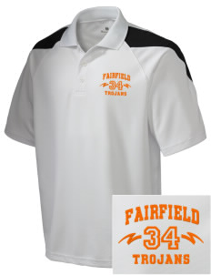 Fairfield Senior High School Trojans Embroidered Holloway Men's Frequency Performance Pique Polo