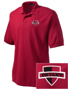 Bryant Elementary School Bulldogs Embroidered Men's Silk Touch Polo