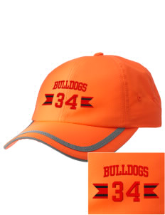 Bryant Elementary School Bulldogs  Embroidered Safety Cap