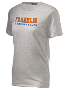 Franklin Middle School Thunderbolts Alternative Unisex Eco Heather T-Shirt