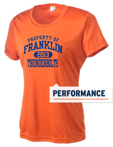 Franklin Middle School Thunderbolts Women's Competitor Performance T-Shirt