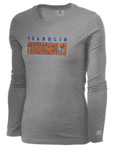 Franklin Middle School Thunderbolts  Russell Women's Long Sleeve Campus T-Shirt