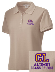 Central Lyon Elementary School Lions Embroidered Women's Performance Plus Pique Polo