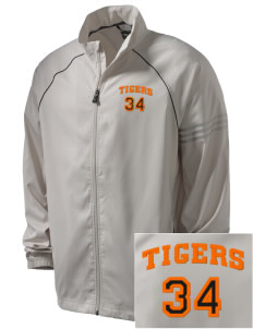 Red Oak Middle School Tigers Embroidered adidas Men's ClimaProof Jacket