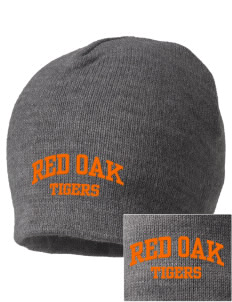 Red Oak Middle School Tigers Embroidered Beanie