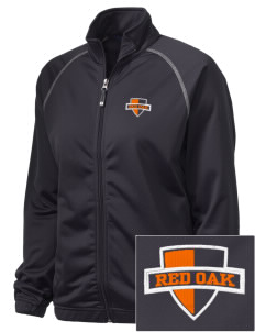 Red Oak Middle School Tigers Embroidered Holloway Women's Attitude Warmup Jacket
