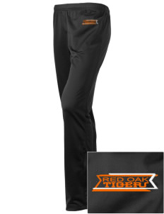 Red Oak Middle School Tigers Embroidered Holloway Women's Contact Warmup Pants