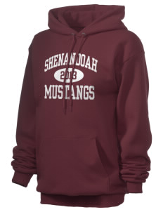 Shenandoah Elementary School Mustangs Unisex 7.8 oz Lightweight Hooded Sweatshirt