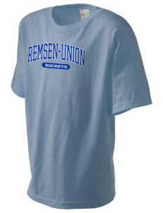 Remsen-Union Community School Rockets Kid's Organic T-Shirt
