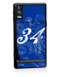 Newell-Fonda Middle School Mustangs Motorola Droid 2 Skin
