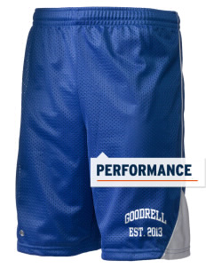 "Goodrell Middle School Pioneers Holloway Men's Possession Performance Shorts, 9"" Inseam"