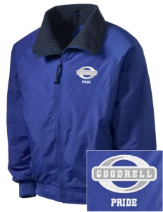 Goodrell Middle School Pioneers Embroidered Men's Fleece-Lined Jacket