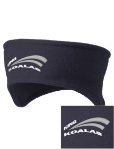 King Elementary School Koalas Embroidered Fleece Headband