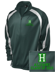 Hoover Elementary School Bulldogs Embroidered Holloway Men's Tricotex Warm Up Jacket