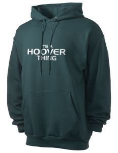 Hoover Elementary School Bulldogs Men's 7.8 oz Lightweight Hooded Sweatshirt