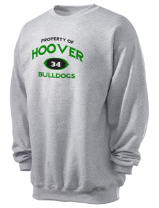 Hoover Elementary School Bulldogs Men's 7.8 oz Lightweight Crewneck Sweatshirt