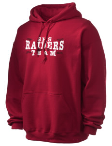 Sac Community High School Indians Ultra Blend 50/50 Hooded Sweatshirt