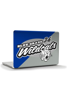 "Blue Grass Elementary School Wildcats Apple MacBook Air 13"" Skin"