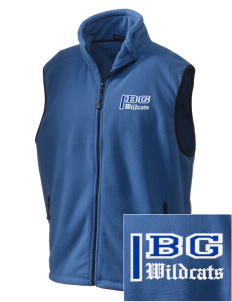 Blue Grass Elementary School Wildcats Embroidered Unisex Wintercept Fleece Vest