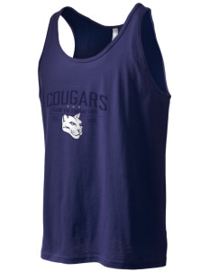 Pleasant View Elementary School Cougars Men's Jersey Tank