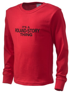 Roland-Story High School Norsemen  Kid's Long Sleeve T-Shirt