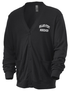 Roland-Story High School Norsemen Men's 5.6 oz Triblend Cardigan