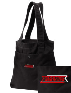 Roland-Story High School Norsemen Embroidered Alternative The Berkeley Tote