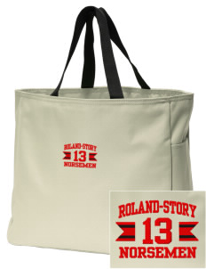 Roland-Story High School Norsemen Embroidered Essential Tote