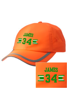 James Elementary School Jets  Embroidered Safety Cap