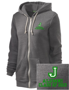James Elementary School Jets Embroidered Alternative Unisex The Rocky Eco-Fleece Hooded Sweatshirt