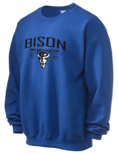 Thompson Middle Elementary School Bison Ultra Blend 50/50 Crewneck Sweatshirt