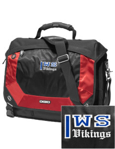 West Side School Vikings Embroidered OGIO Jack Pack Messenger Bag