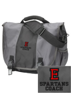 East Middle School Spartans  Embroidered Montezuma Messenger Bag