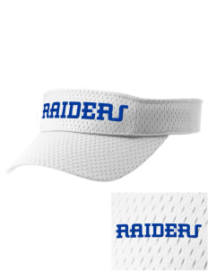 Washington Elementary School Raiders Embroidered Woven Cotton Visor