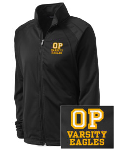Oak Park Elementary School Eagles Embroidered Women's Tricot Track Jacket