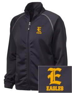 Oak Park Elementary School Eagles Embroidered Holloway Women's Attitude Warmup Jacket